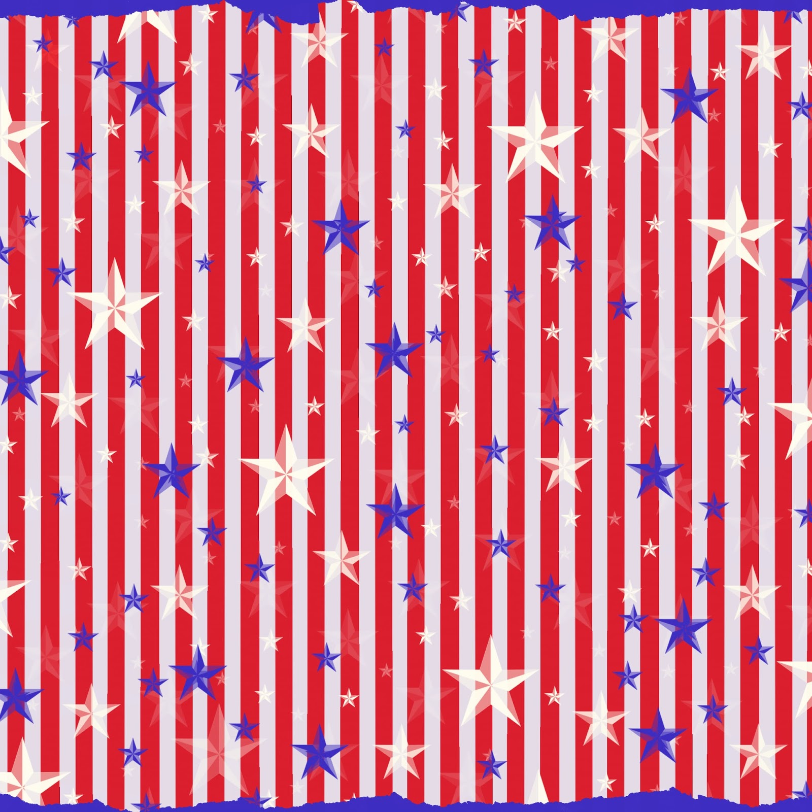 Stampin Damour Free Digital Scrapbook Paper Americana Stripes