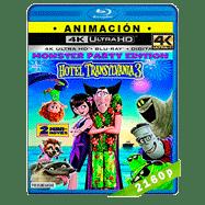 Hotel Transylvania 3: Monstruos de vacaciones (2018) 4K UHD Dual Latino-Ingles