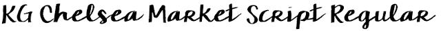 KG Chelsea Market Script Regular
