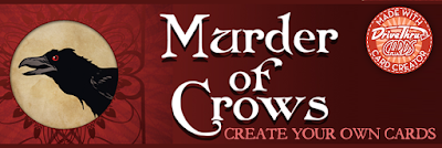 "Murder of Crows ""Create Your Own Cards"" Banner"