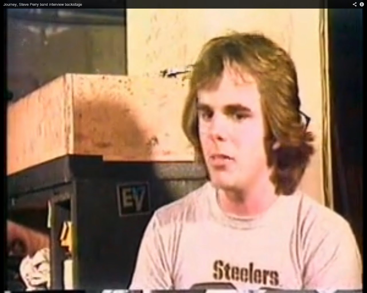 Jonathan Cain Wearing Steelers Shirt