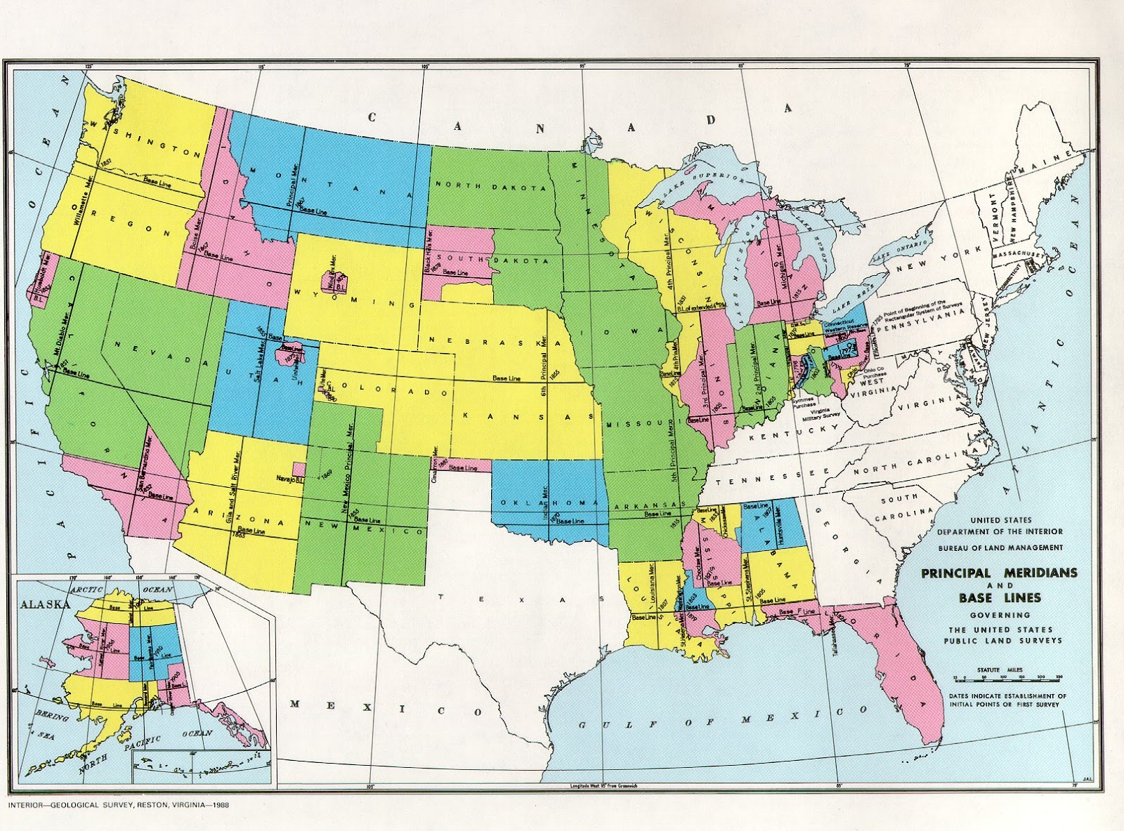 plss maps were the first maps to document the united states land partitions they were mostly used to depict the government land that would be
