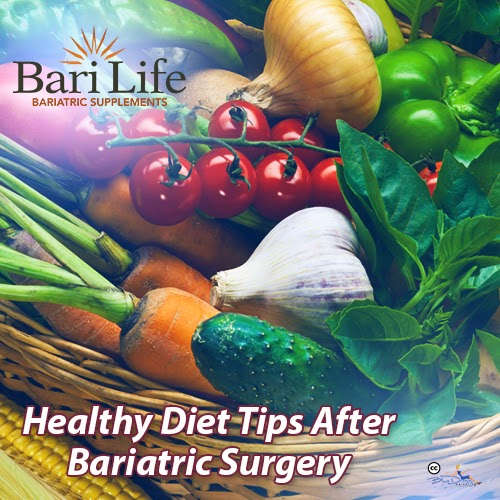 Healthy Diet Tips After Bariatric Surgery