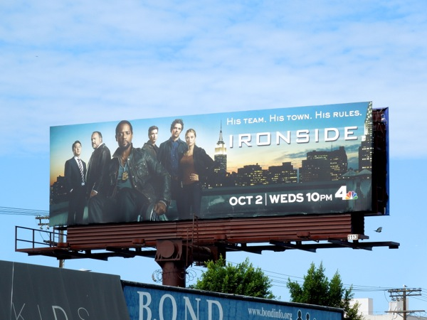 Ironside 2013 NBC remake billboard