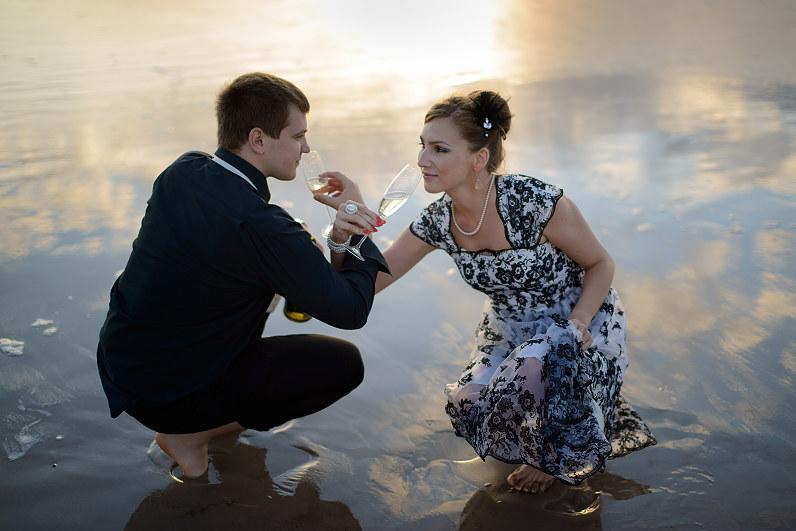 romantiška fotosesija palangoje