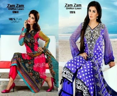 Zam Zam Lawn Collection