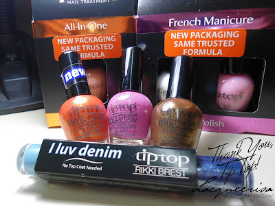 Goodies from Tip Top Nails South Africa