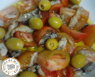 Capellan asado, tomate raff, Muchamiel