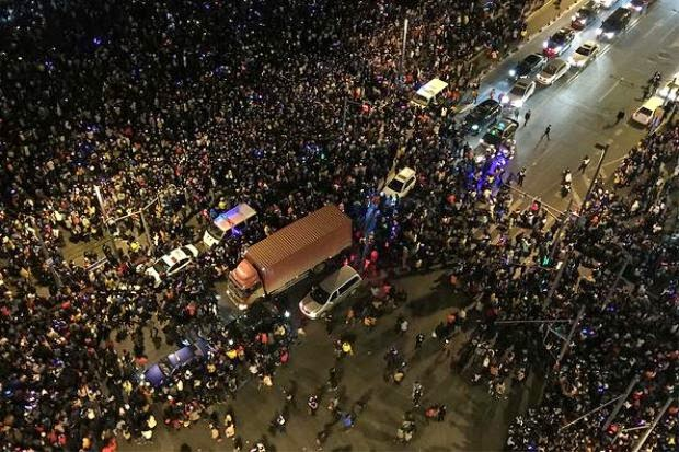 Rebut Wang Palsu Punca 35 Maut Dipijak Malam Tahun Baru 2015