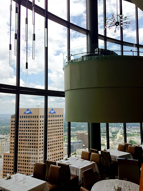 Sun Dial Restaurant & View, Westin Peachtree Plaza Hotel
