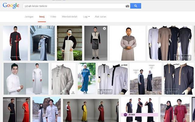 jubah moden lelaki