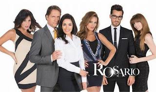 Itahisa Machado en el poster de su telenovela Rosario