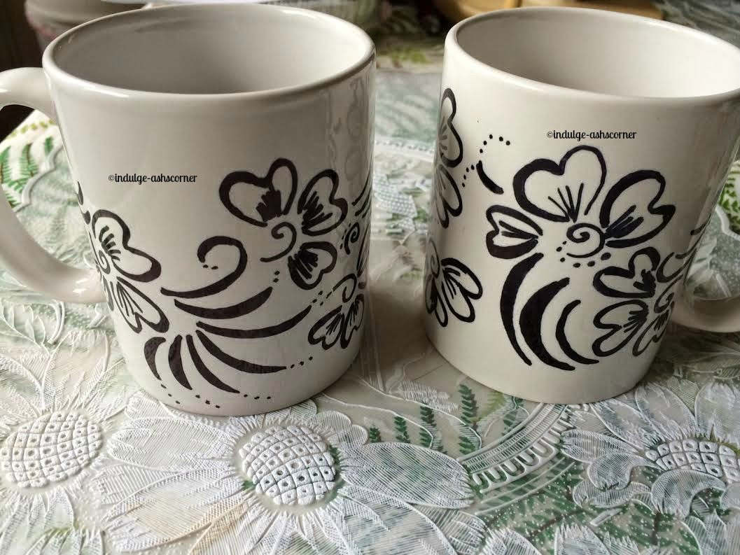 Sharpie mugs- DIY Craft