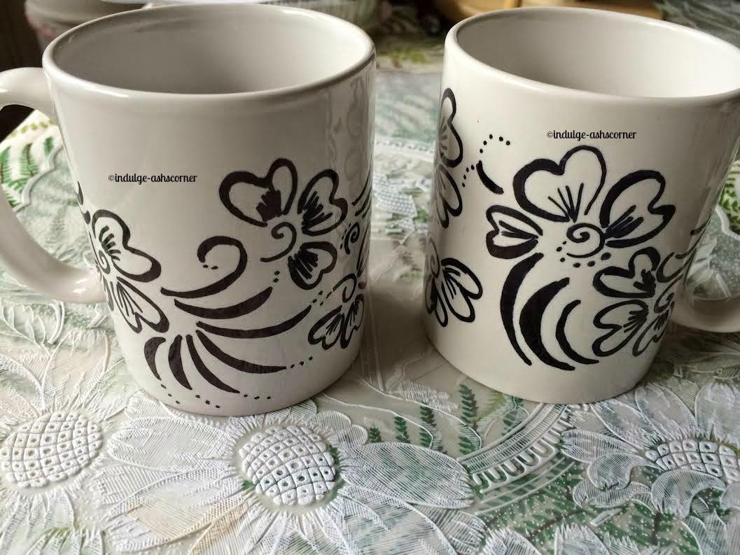 Sharpie mugs- DIY Craft
