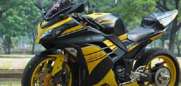 Kawasaki Ninja 250 fi Modifikasi 2013 FI title=