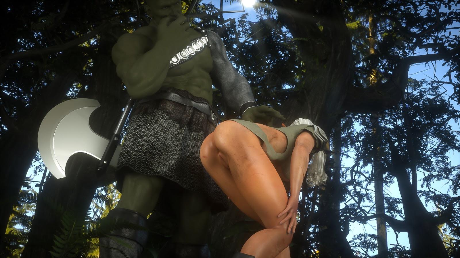 3d elf fucked by a goblin 5