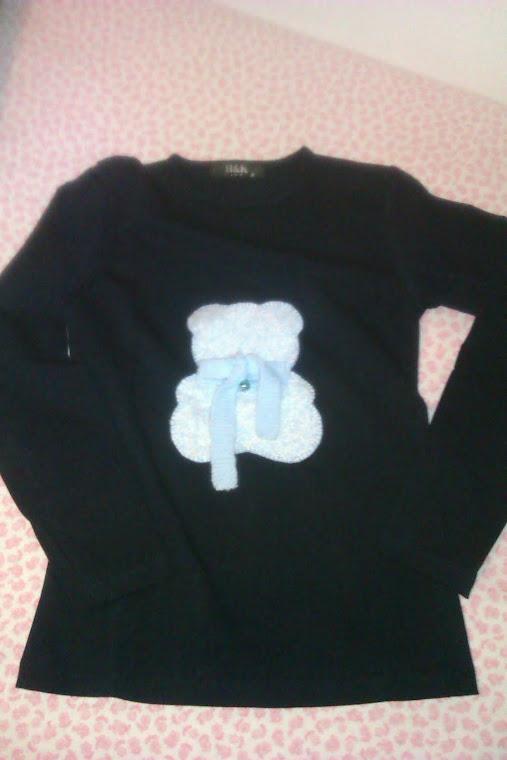 Camiseta con oso