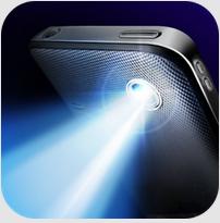تطبيق مجاني للأندرويد لتحويل جهازك الي مصباح للإنارة في الظلام Super-Bright LED Flashlight APK 1.0.3