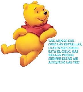 Winnie Pooh amistad