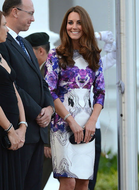 Kate Middleton in Singapore born Prabal Gurung