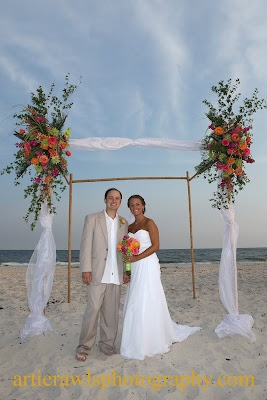 Artie Rawls Photography Summer Beach Wedding In Orange Beach Alabama