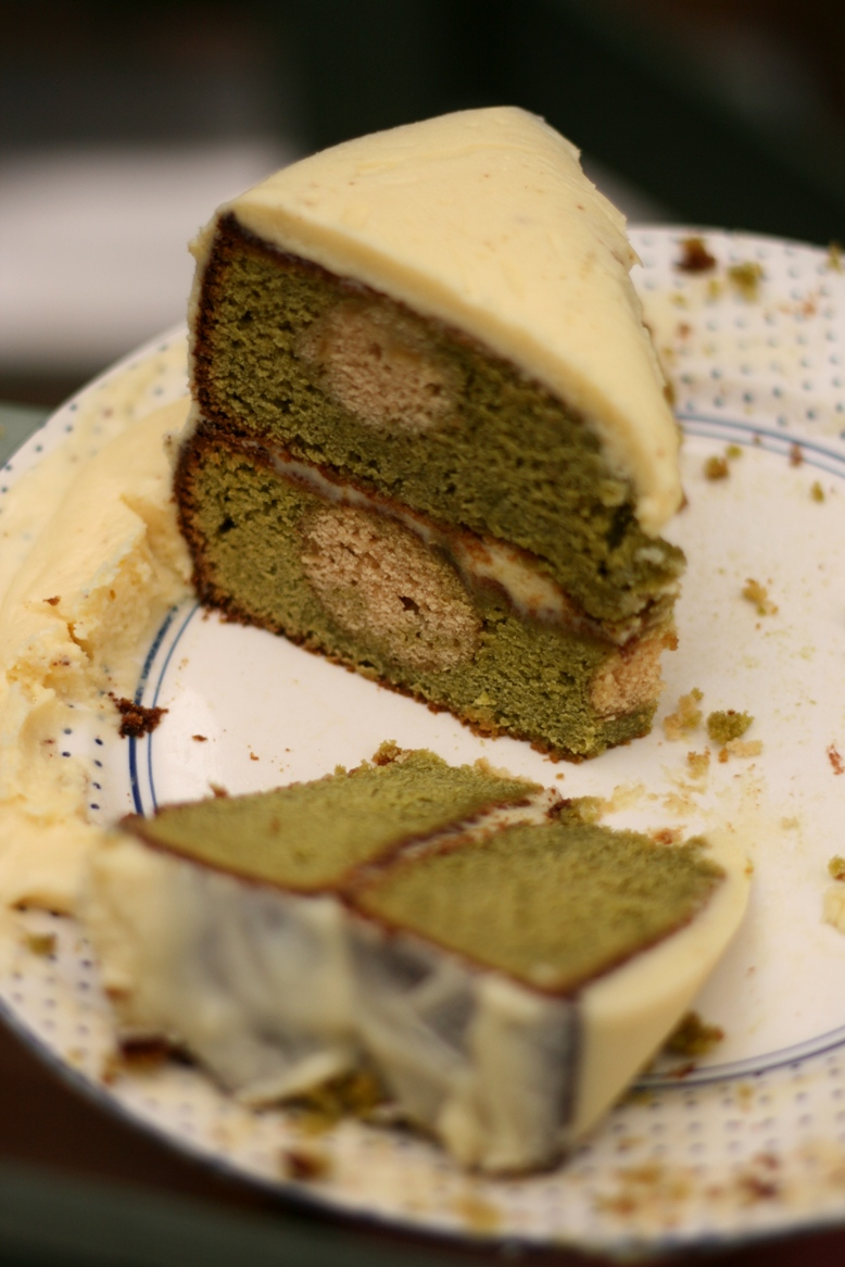 Spotted Caramel Apple Tea Cake (with white chocolate and cream cheese ...