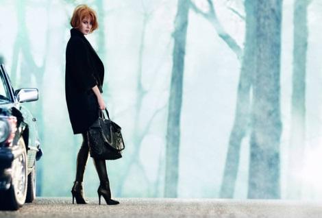 Nicole Kidman wearing Jimmy Choo AW13 Boots