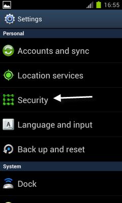 Cài đặt ứng dụng cho android