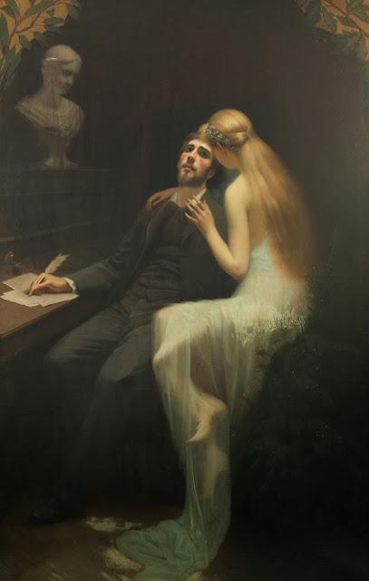 inspiration, Alexandre Cabanel,french poet