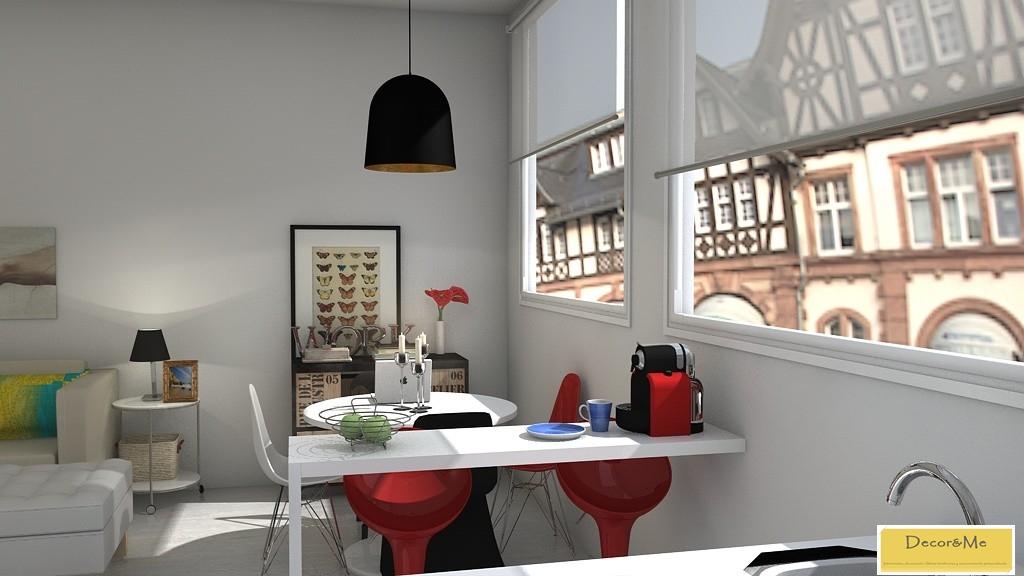 ... Y Maisons Du Monde) Con Algunos Detalles De Diseño, Como Las Sillas DSR  De Los Eames, La Tolix Y La Panton, Que Fueron Las Elegidas Para La Zona De  ...