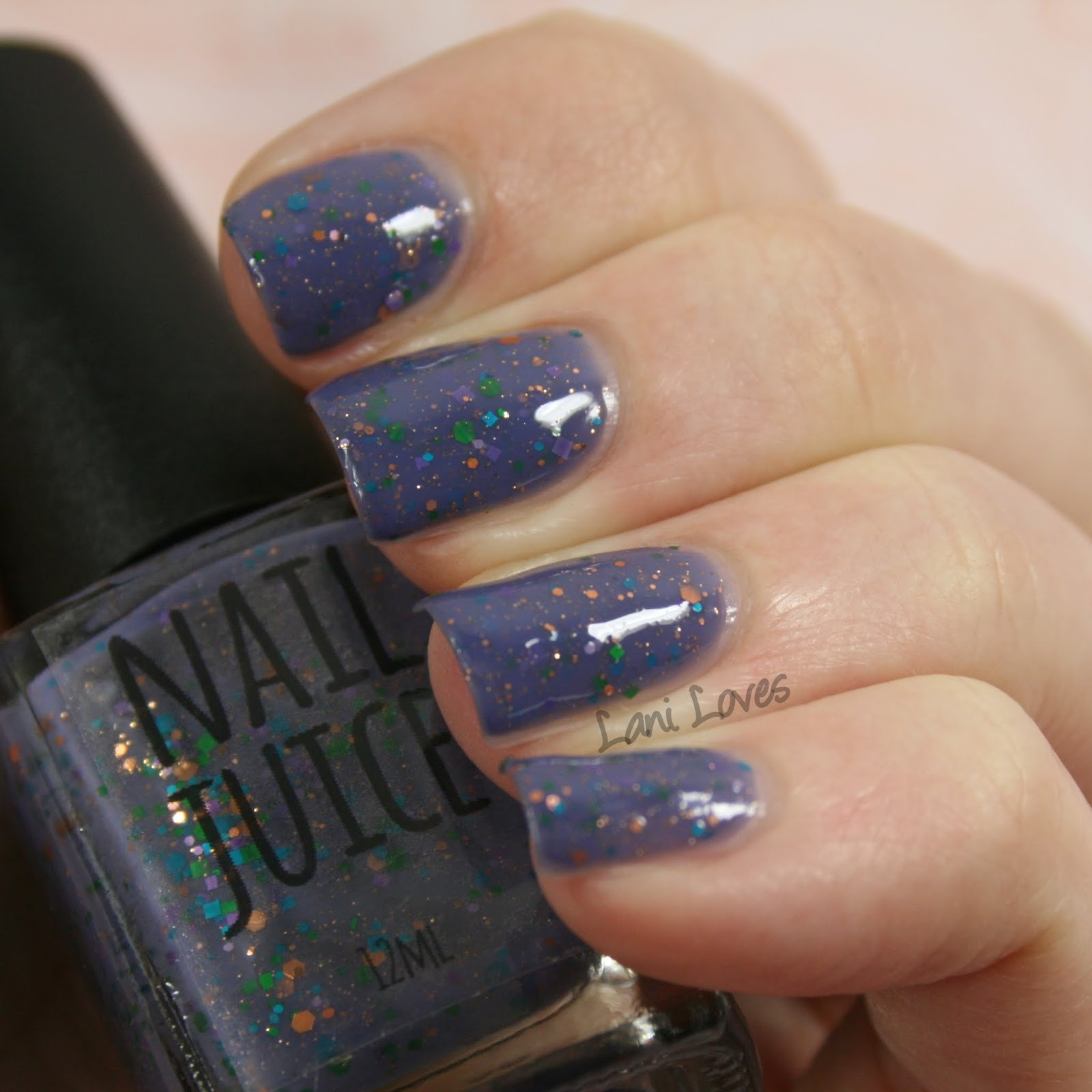 NZ Indie Polish Month: Nail Juice - Fairy Dust Nail Polish Swatches ...