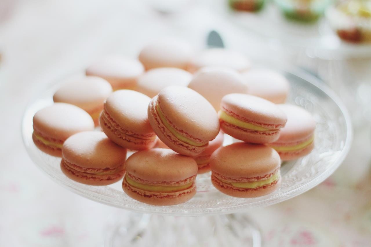 macarons ganache fondante