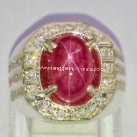 Batu Ruby Asli Natural Koleksi batu permata berkualitas harga murah