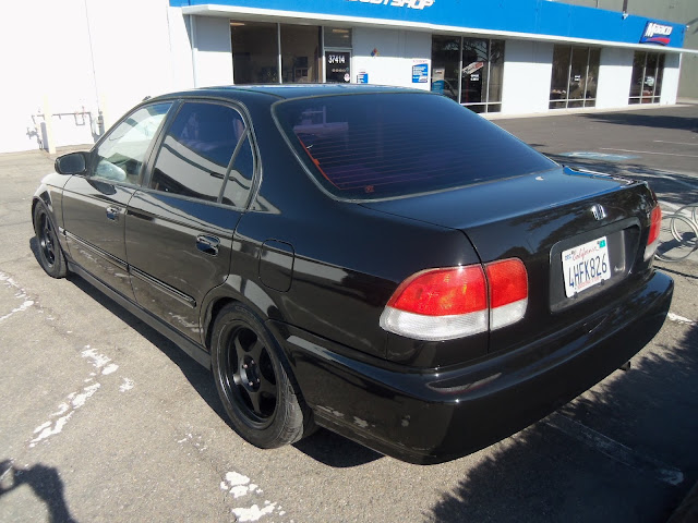 Almost Everything's Car of the Day is a 1998 Honda Civic--After Painting
