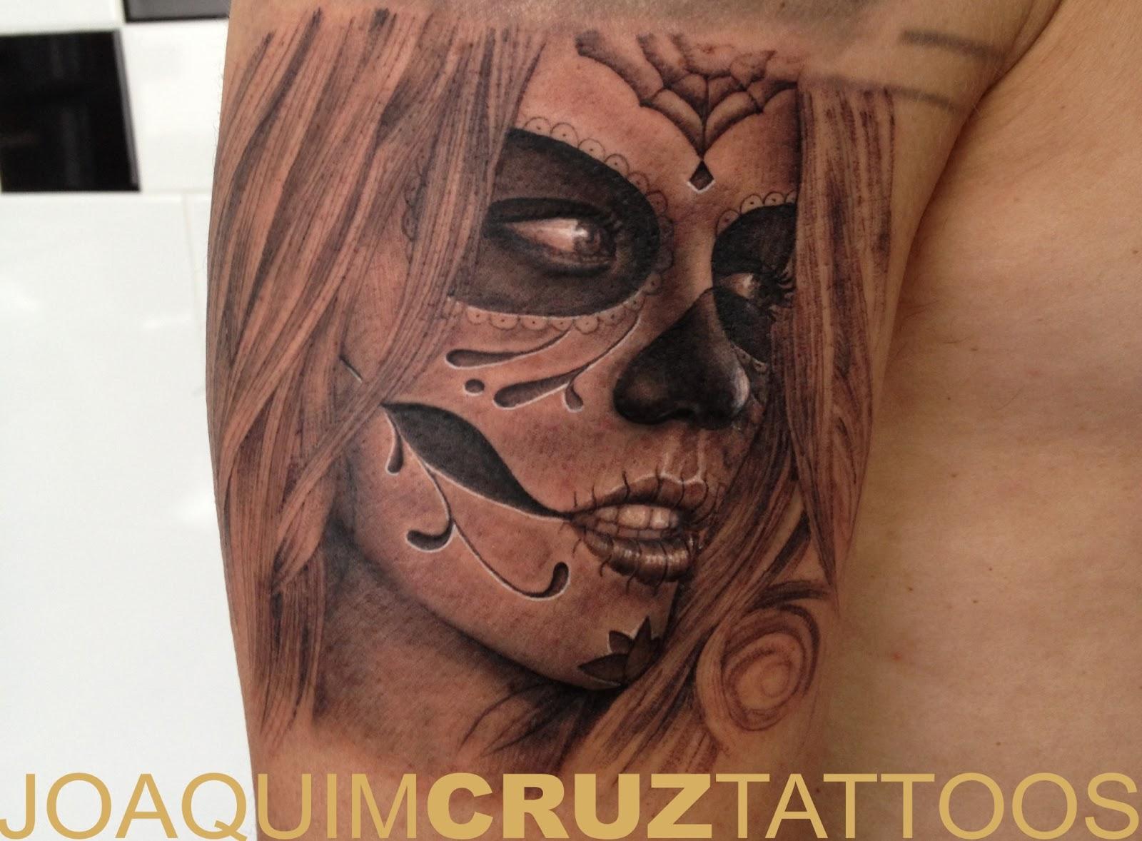 Catrina+kate+beckinsale+tattoo+power+lojas+estudios+de+tatuagens+porto