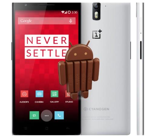 Disponibile la rom Kitkat 4.4.4 senza personalizzazioni per OnePlus One