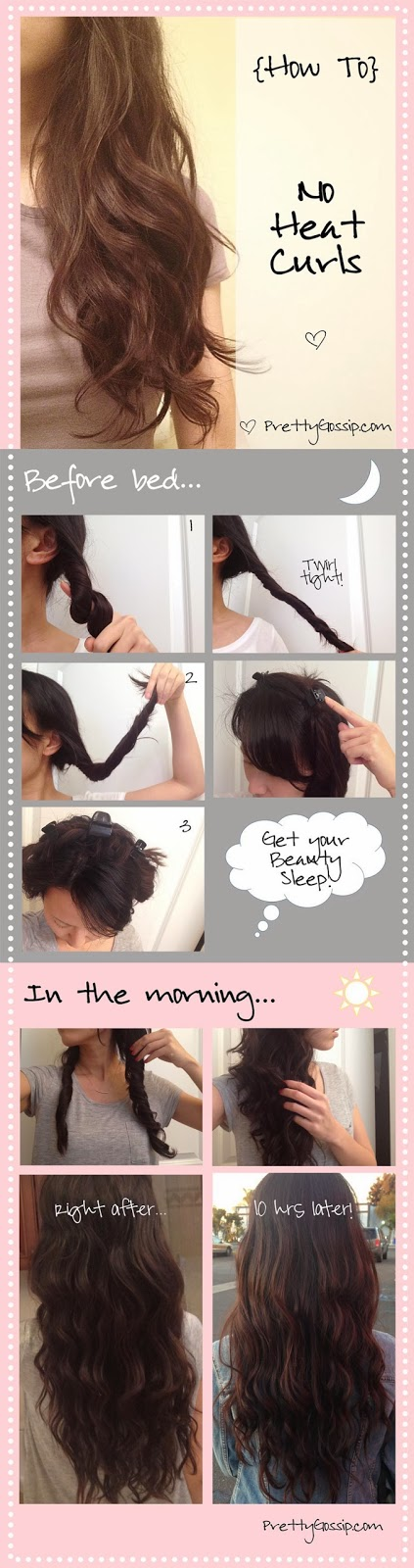 Twist and Twirl No Heat Curls