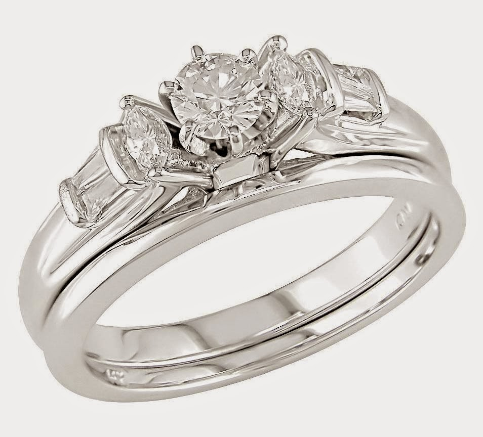 designer diamond wedding engagement ring sets for her