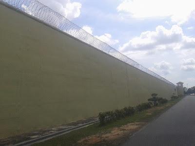 Tembok Penjara Kajang, Jabatan Penjara Malaysia