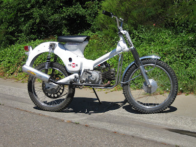 1962 Honda C100 Trials