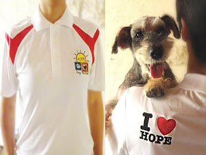 Buy a HOPE Polo T-shirt to support our work!