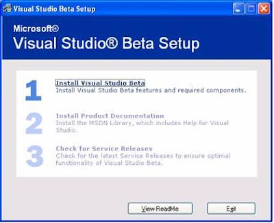 Cài đặt: Hướng dẫn cài đặt Visual Studio 2005 (hình ảnh)