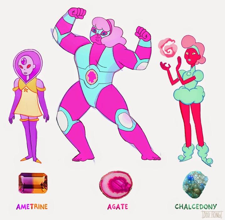 Dou Hong: Steven Universe Crystal Gems: Part 2