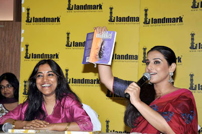 Vidya Balan at Launch of 'Unhooked' book