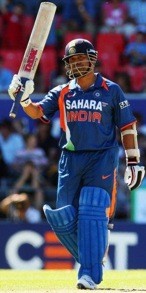 Sachin Cracks Ton, Harbhajan Spins Out Lanka