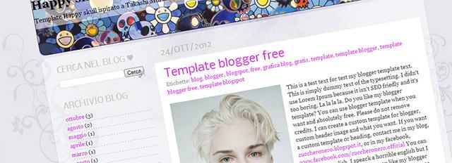 Template-per-blogger