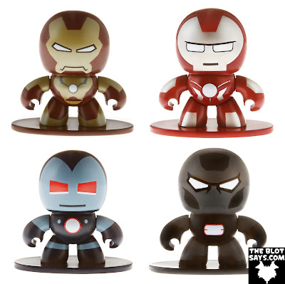 New York Comic-Con 2012 First Look: Iron Man 3 Marvel Micro Muggs by Hasbro