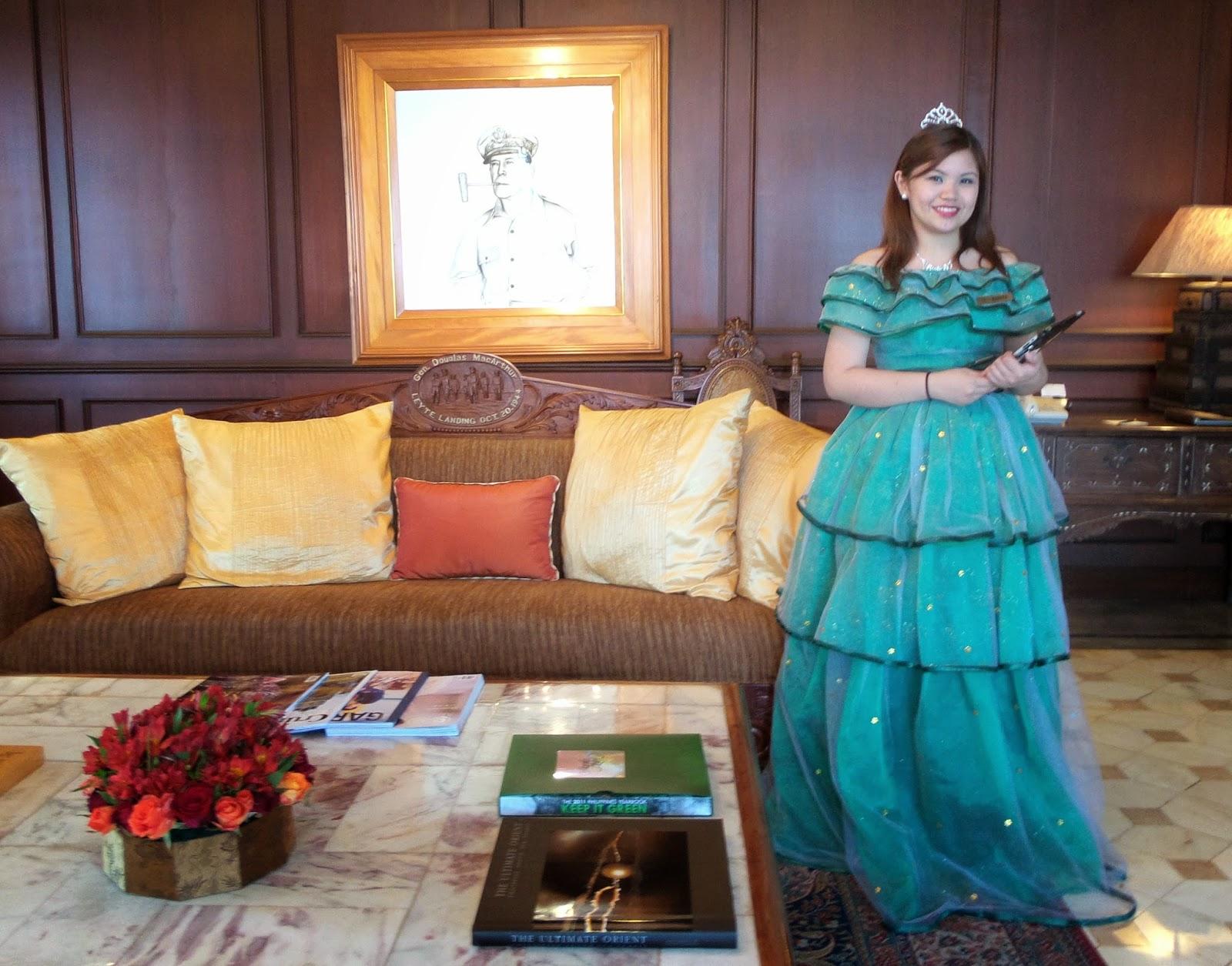 manila hotel macarthurs suite