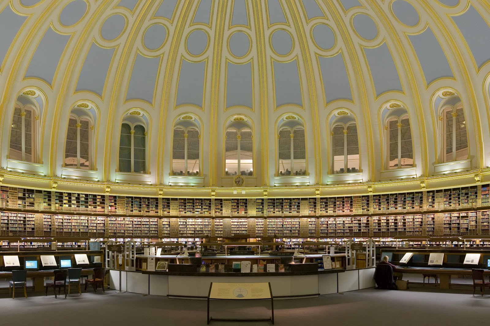 Famous Books In State Rooms Of The Vienna National Library