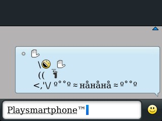mega smiley autotext bbm blackberry messenger 01 updated oct 2012